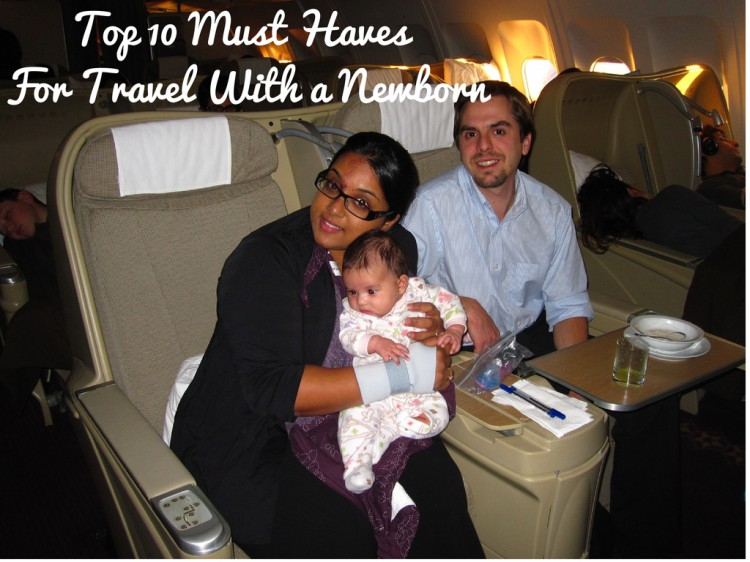 top 10 travel with newborn