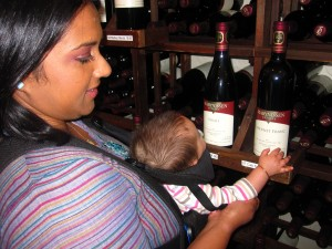 2012 Wine and Herb: Good friends, fine wine and a baby (Part 1)