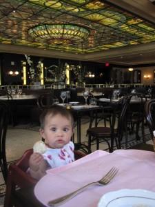 La Societe baby friendly Toronto restuarant