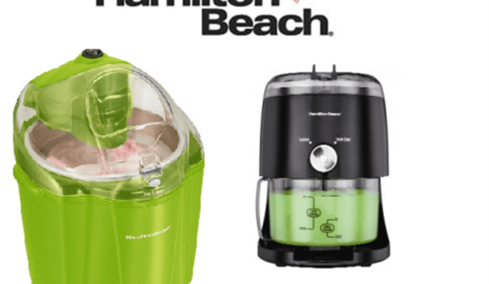 Hamilton Beach Canada Ice Treats and Ice Cream Maker Giveaway!