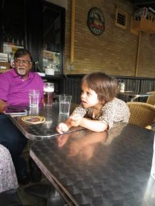 beer and babies, toronto friendly restaurants