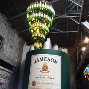 Irishy whiskey, JAmeson distillery, family travel