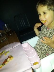 dining out with baby in Toronto,
