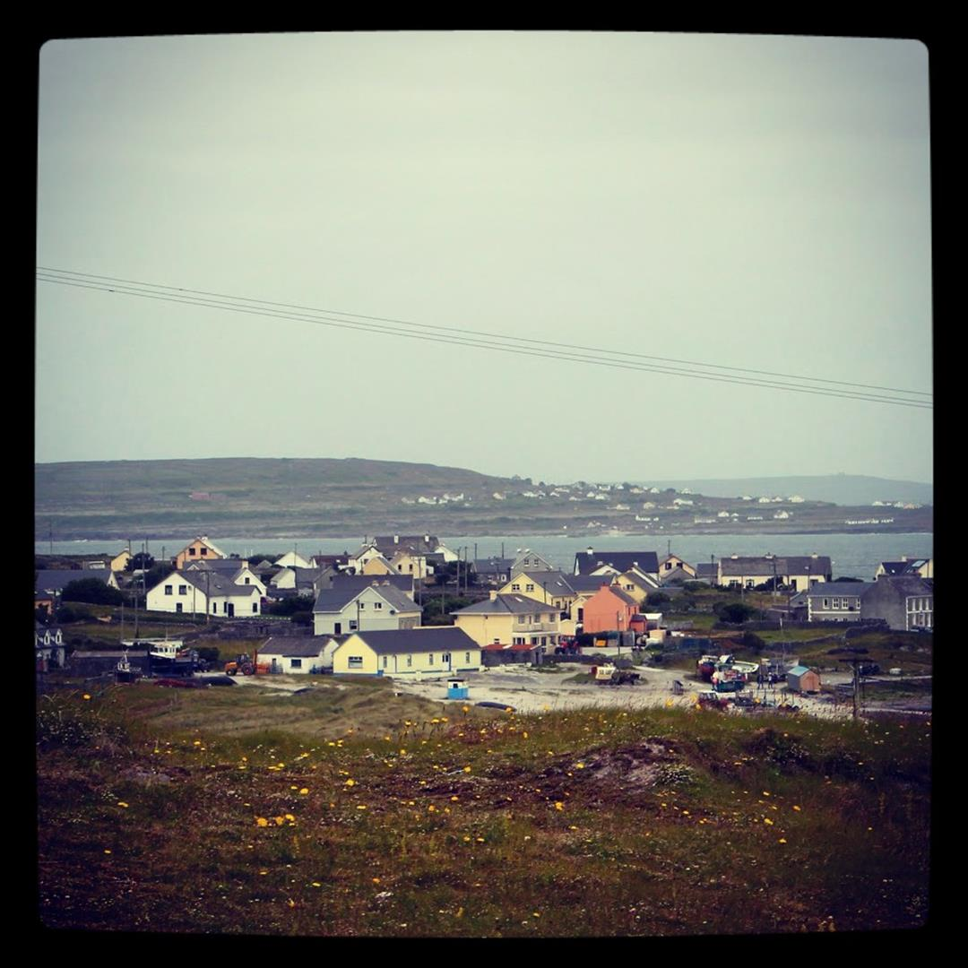 This is where everyone lives in Inisheer