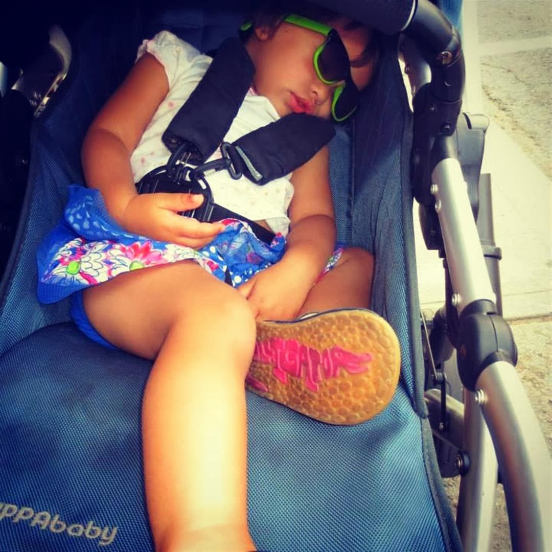 Kensington market, baby travel, toddler travel