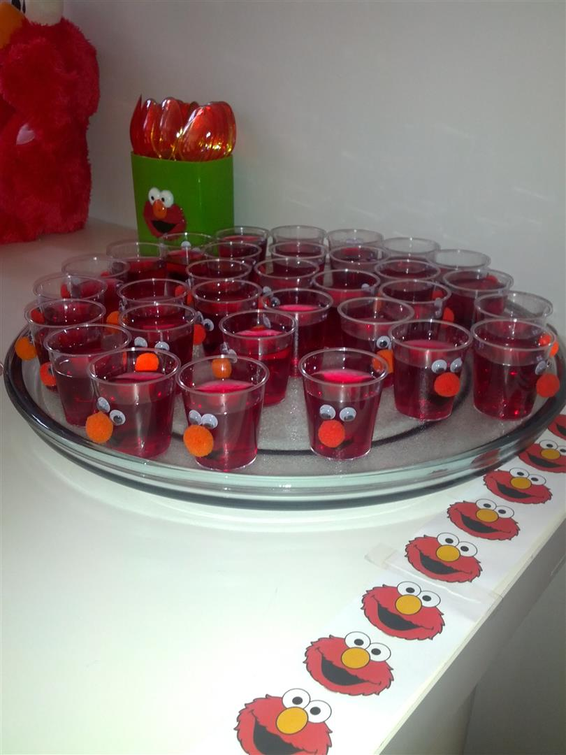 Elmo Party Food Platters