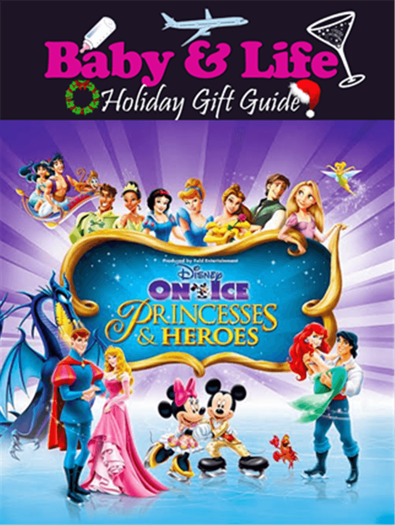 holiday gift guide, disney on ice , princesses and heroes
