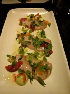yellowtail crudo