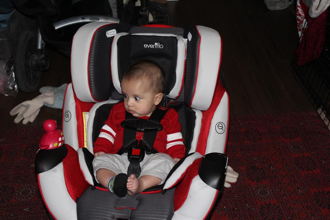 Evenflo Symphony™ DLX All-In-One Car Seat Review