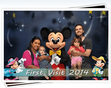 DIsneyland with a toddler and newborn