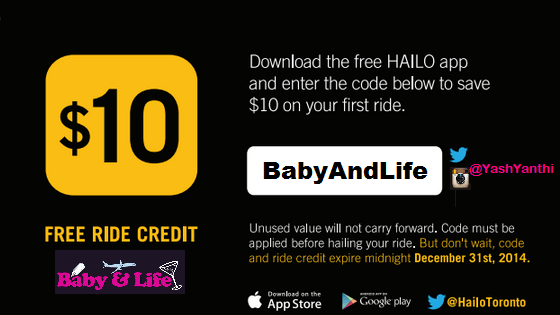 Taxi With Kids | HAILO Toronto Contest