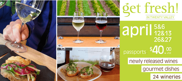 Get Fresh in Twenty Valley, Contest, Wine Tour