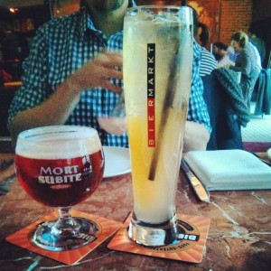bier makt, kids dining toronto, dining with kids,