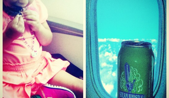 Flying Porter Airlines with Young Kids