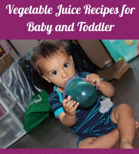 veggie juice baby