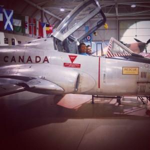 Canadian warplane museum kids