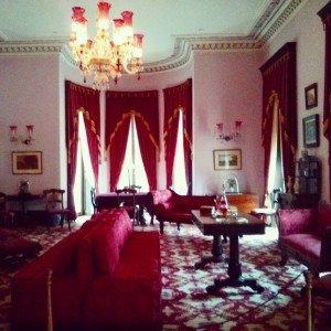 pink room in Dundurn Castle