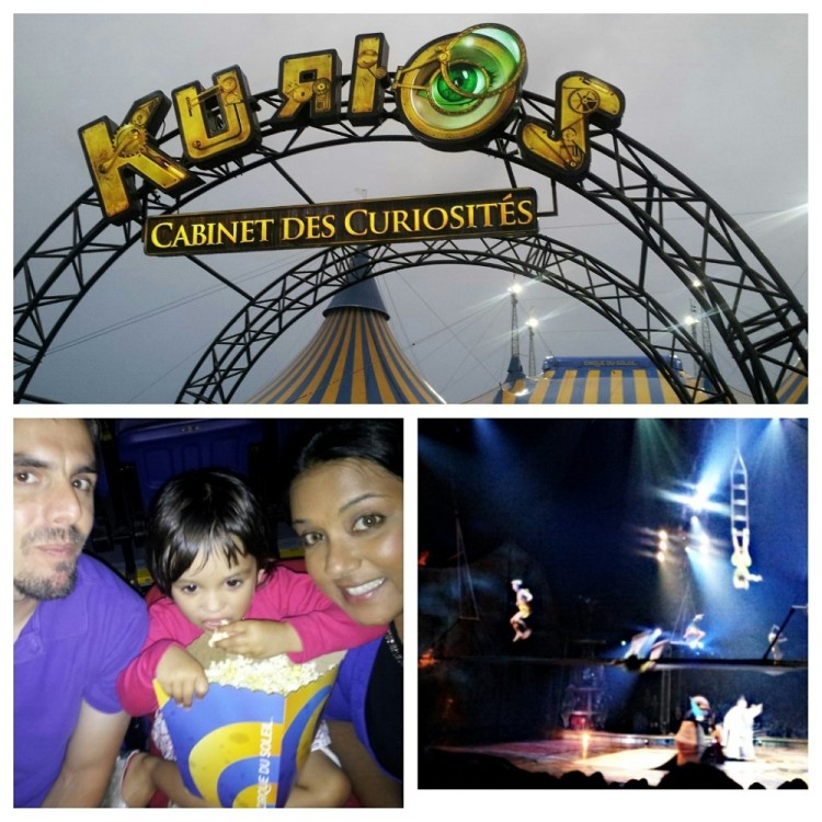 Cirque du Soleil's Kurios with Toddler