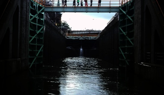 The Erie Canal and Lockport Cave