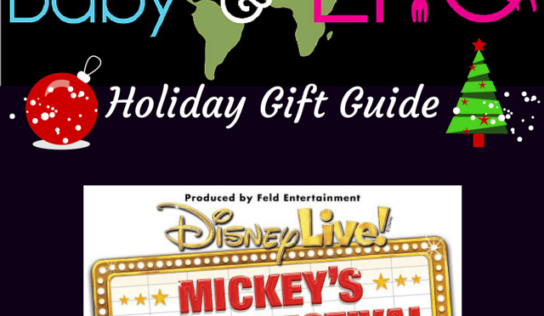 Disney Live! Mickey's Music Festival | Holiday Gift Guide Giveaway