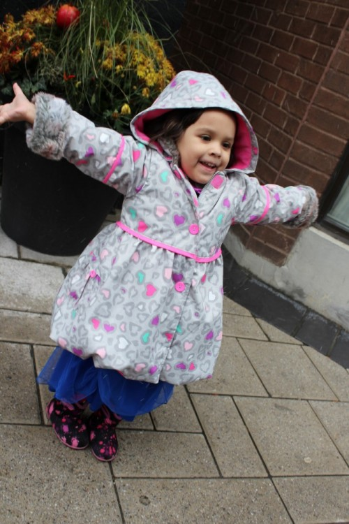 Deau par Deau, fashion baby , winter kids fashion, pre school clothing, girls winter jacket