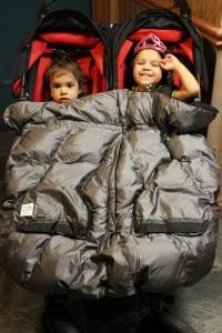 7 A.M Enfant Duo, double stroller blanket, double stroller winter