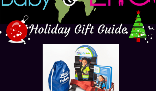 CARES Child Aviation Restraint System  |Holiday Gift Guide Giveaway