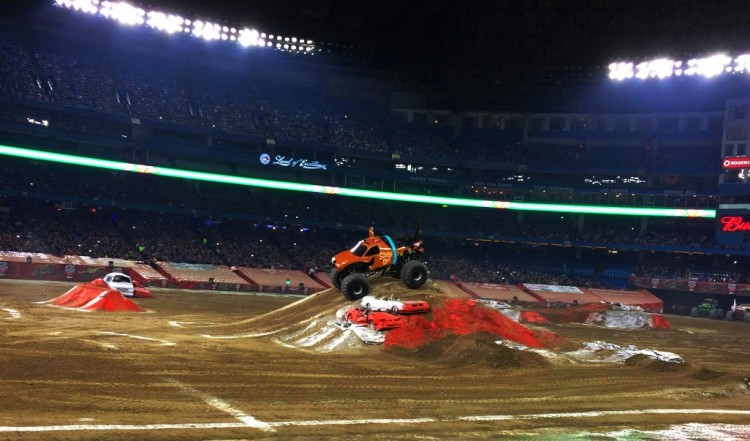 Monste Jam with Kids, Monster Jam Toronto