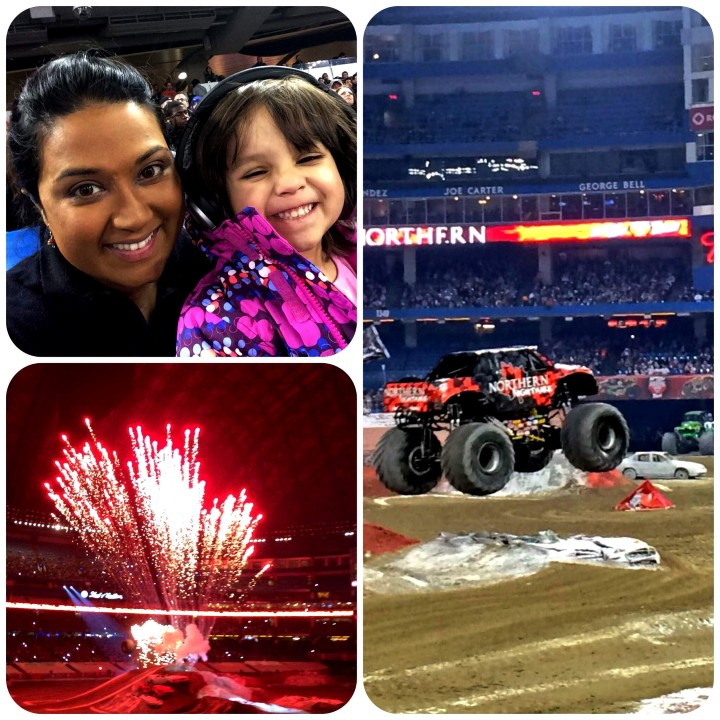 Monster Jam with kids, monster jam with toddler