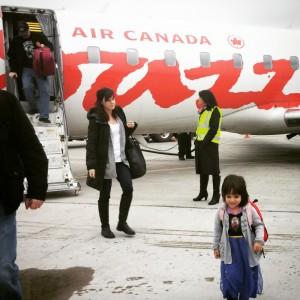 air Canada jazz, baby air canada