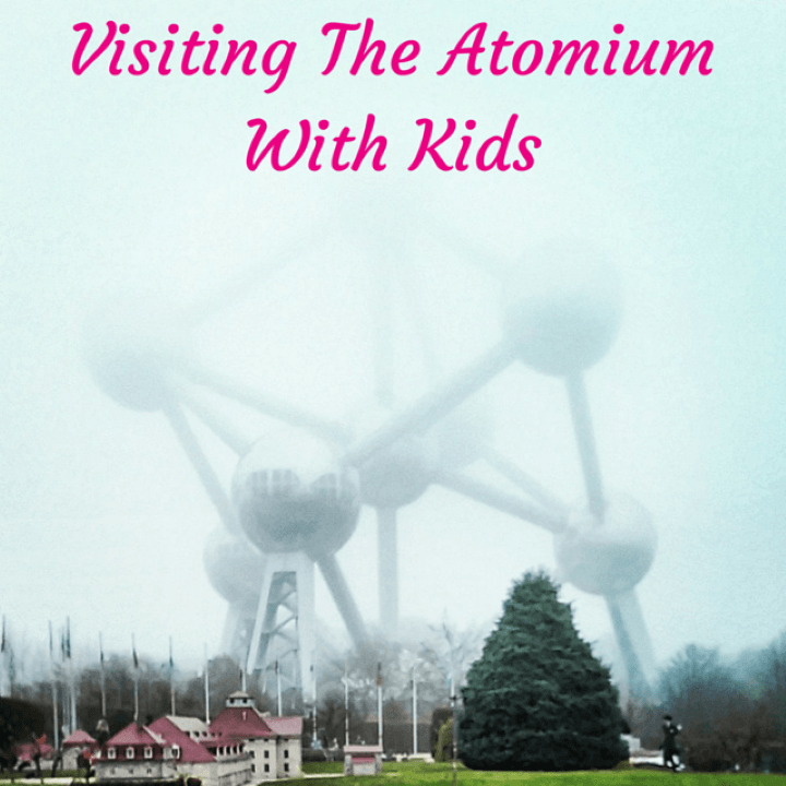 atomium with kids, brussels with kids