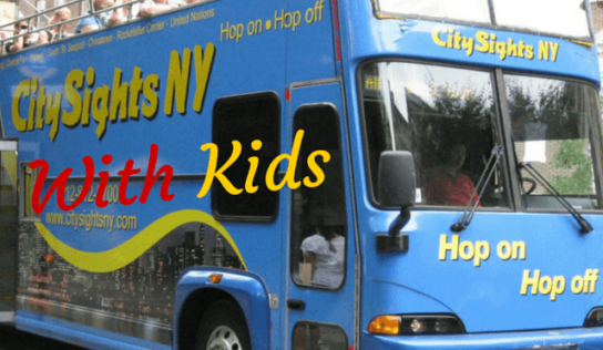 New York City Bus Tour With Kids