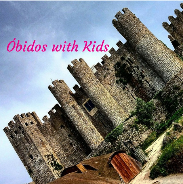 Obidos with kids