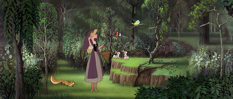 The Beautiful Forest Visuals of Sleeping Beauty