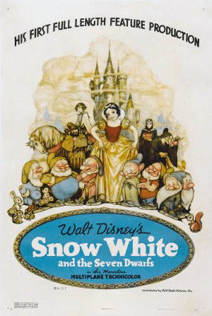 Snow White and the Seven Dwarfs – The First Disney Princess