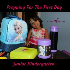 First Day of Kindergarten Prep