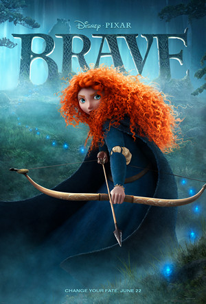 Brave Merida Needs no Help from the Prince