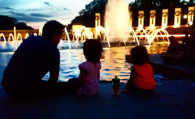 National mall with kids