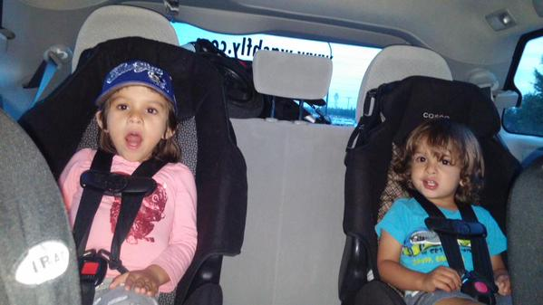 taxi in Washington with kids