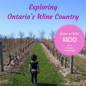 Exploring Wine Country Ontario Giveaway #12DaysVQA
