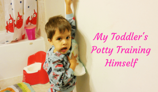 Kid's Potty Training Himself