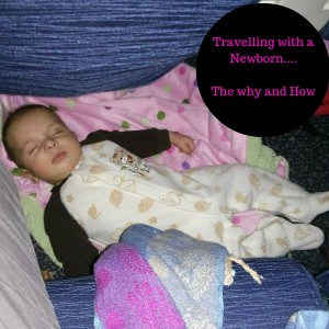 Travelling with a Newborn : Flight Tips