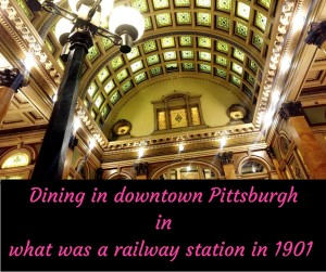 Dining in a Railway Station at the Grand Concourse #MurphysDoPittsburgh