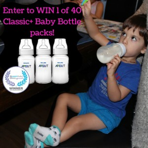 Bottle Feeding Continues! Philips AVENT Classic+ Baby Bottles Giveaway #LoveIsInTheDetails