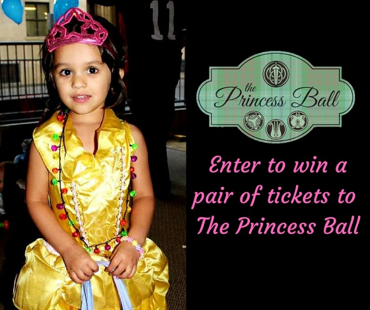 Win  tickets to the princess ball toronto