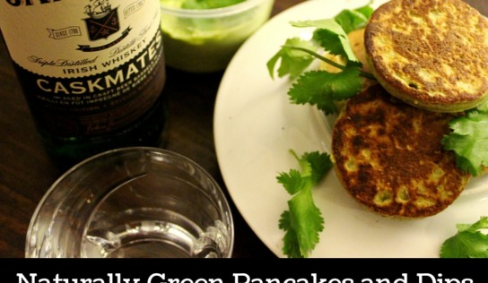 Savoury Cottage Cheese Pancakes and Guacamole