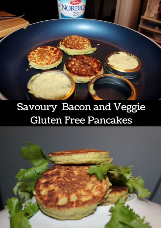 Savoury Bacon and Veggie Pancakes (Custom)