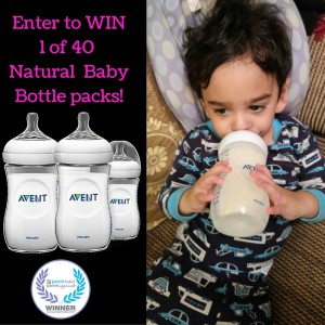 Avent Natural Bottle Giveaway! #LoveIsInTheDetails