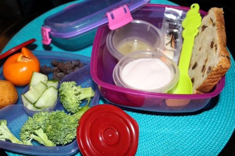 Junior kindergarten lunch