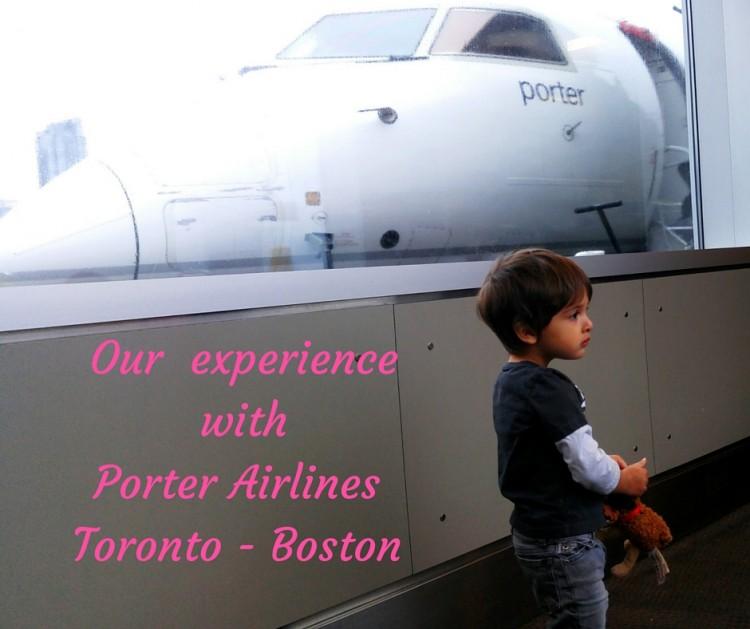 porter airline stroller